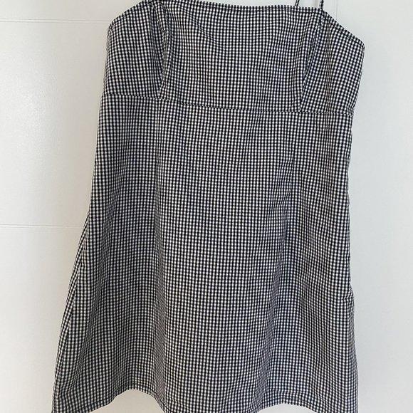 🔥3/$15🔥 Garage Gingham Mini Dress